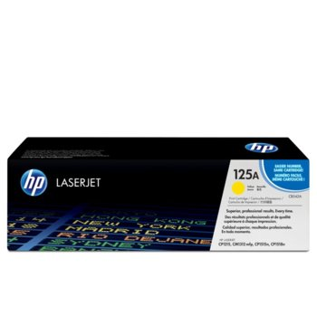 КАСЕТА ЗА HP COLOR LASER JET CP1215/1515N - Yellow - P№ CB542A - заб.: 1400k image