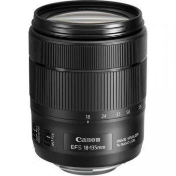 Обектив Canon EF-S 18-135mm f/3.5-5.6 IS Nano USM за Canon EF-S image