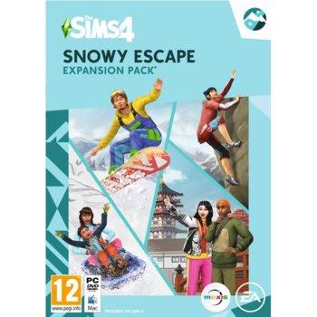 Допълнение към игра The Sims 4 - Snowy Escape, за PC image