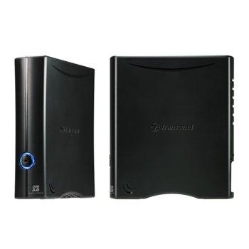 """Твърд диск 8TB Transcend StoreJet 35T3, външен, 3.5"""" (8.9cm), USB3.0 image"""