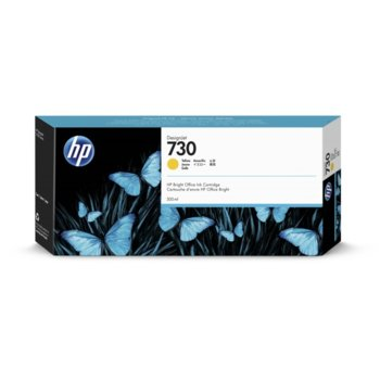 Мастило за HP DesignJet T1700 - P2V70A - Yellow - 300ml image