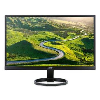 """Монитор Acer R221QBbmix (UM.WR1EE.B01), 21.5""""(55cm), IPS панел, FullHD, 1ms(VRB), 100 000 000:1, 250 cd/m2, HDMI, VGA  image"""