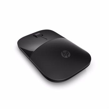 Мишка HP Z3700, оптична (1200 dpi), безжична, USB, черна, нископрофилен дизайн image