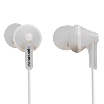Слушалки тип тапи Panasonic RP-HJE125E-W  product