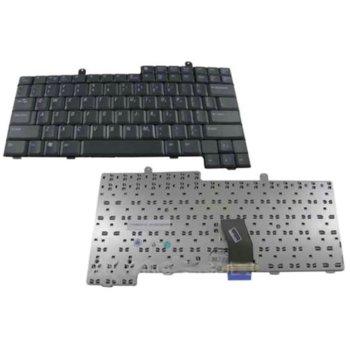 Клавиатура за лаптоп Dell, съвместима със серия Latitude D500 D600 D800, US/UK image