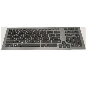 Клавиатура за ASUS G75 G75VW G75VX, US, черна, кирилица, подсветка на клавишите, image