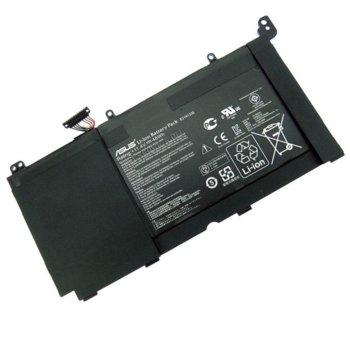 Батерия (оригинална) за лаптоп Asus, съвместима с K551LA Serie/R553L series, 11.4V, 4200mAh image