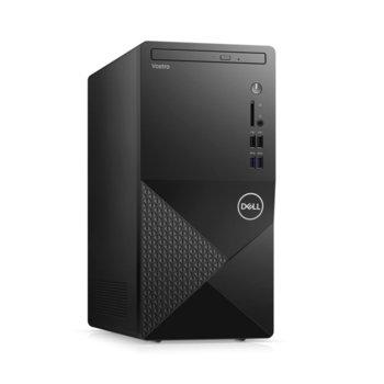 Настолен компютър Dell Vostro 3888 MT (N512VD3888EMEA01_2101_UBU), шестядрен Comet Lake Intel Core i5-10400 2.9/4.3 GHz, 8GB DDR4, 512GB SSD, 4x USB 3.1 Gen 1, клавиатура и мишка, Linux image
