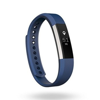 Fitbit Alta Small Size Blue Silver FB406BUS-EU product