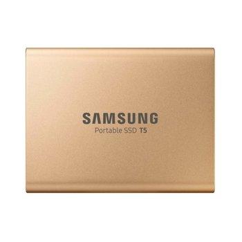 "Памет SSD 500GB, Samsung Portable SSD T5, USB 3.1 (Gen 2), 2.5""(6.35 cm), скорост на четене 540Mb/s image"