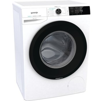 Пералня Gorenje WEI74SDS, клас A, 7 кг. капацитет на пералня, 1400 оборота, 16 програми, свободностояща, 60 cm ширина, защита от деца, SteamTech третиране с пара, бяла image