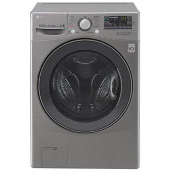 Перална машина LG F4WN209S4E, A+++, 9 кг капацитет, 1400 1/min, 14 брой програми, свободностояща, 60 см., ThinQ технология, сив image