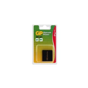 Батерия GP за апарат FUJI NP40, Pentax DLi8, OptioS, OptioS4i, ROLLEI DA10, DB60, DP60, DX63, DX68 and tribute DT6 cameras, Finepix F402, F610, F700 Zoom, LiIon 3.7V, 700mAh  image