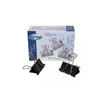 Щипки, захващат до 180 л., размер 41 mm, 12бр. в опаковка image