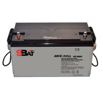 Акумулаторна батерия SBat SB12-80LL, 12V, 80Ah, VRLA image
