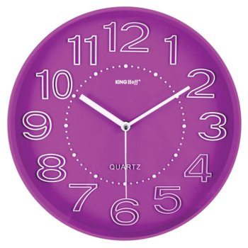 Часовник KingHoff KH-1020, аналогово указание, розов image