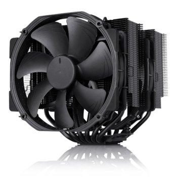 Охлаждане за процесор Noctua NH-D15 chromax black, съвместим с Intel LGA2011/LGA2011-3/1156/1155/1151/1150 & AMD AM2(+), AM3(+), FM1, FM2(+) image