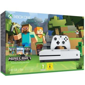Xbox One S 500GB + MInecraft product