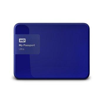 WD 1TB HDD MyPassport Blue WDBGPU0010BBL product