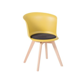 Трапезен стол Carmen 9968 жълт product
