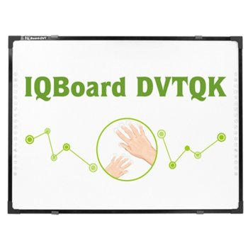 "Интерактивна дъска IQ Board DVTQK TN087DSXNWM, 87"" (220.98) Multi-touch, 4:3, Digital vision touch technology, без писалка, USB image"