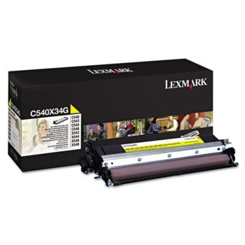 Lexmark C540X34G Yellow product