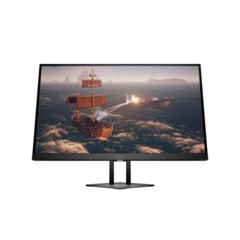 """Монитор HP Omen 27i (8AC94AA), 27"""" (68.58 cm) IPS панел, 165Hz, 2K QHD, 1ms, 350cd/m2, DisplayPort, HDMI, USB image"""