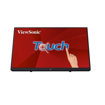 "Дисплей ViewSonic TD2230, тъч дисплей, 21.5"" (54.61 cm), Full HD, Display Port, HDMI, VGA, USB image"
