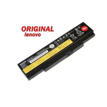 Батерия (оригинална) за Lenovo съвместима с ThinkPad E550 E550C ThinkPad E555 45N1761 76+, 10.8V, 4400mAh 48Wh, 6 клетъчна Li-ion image