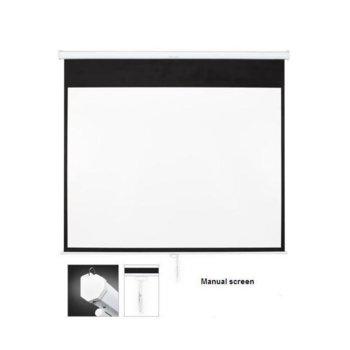 Екран OMB SF110MMH, за стена, Matte White, 235 x 136, 16:9 image