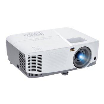 Проектор VIEWSONIC PG603W, DLP, WXGA(1280x800), 22000:1, 3600 lm, VGA, HDMI, RS232, RCA, USB, LAN, бял  image