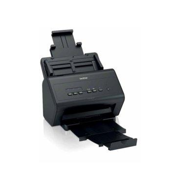 Скенер Brother ADS-3000N, 1200 x 1200 dpi, A4, LAN, USB 3.0, черен image