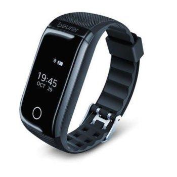Фитнес гривна Beurer AS 97, OLED дисплей, пулс монитор, изгорени калории, мониторинг за сън, крачкомер, съвместимост с iOS 10.0 & Android 5, водоустойчива, черна image