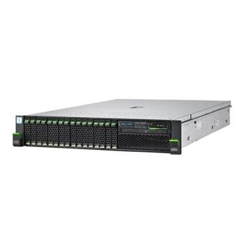 Сървър Fujitsu Primergy RX2520 M5 (VFY:R2525SC180IN), осемядрен Cascade Lake Intel Xeon 4208 2.1/3.2 GHz, 16GB DDR4, без HDD, 2x 1GbE, No OS, 1x 800W image