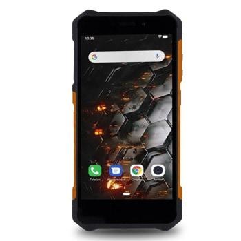 """Смартфон MyPhone Hammer IRON 3 (оранжев), поддържа 2 SIM карти, 5.5"""" (13.97 cm) IPS дисплей, четириядрен MT6580 1.3GHz, 1GB RAM, 16GB Flash памет (+microSD слот), 8.0 & 5.0 MPix камера, Android, 234 g image"""