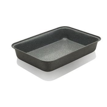 Тава за печене ZEPHYR ZP 1222 OM, 22x5x32 см, стомана, мраморно покритие, сив image