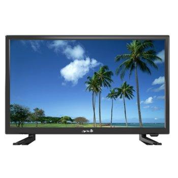 "Телевизор Arielli LED-2219T2, 22"" (55.9 cm) Full HD, DVB-T2CS2, 1x HDMI, 1x USB image"