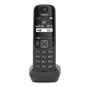 """VoIP телефон Gigaset A690 IP, безжичен, 2"""" LCD дисплей, 6 SIP accounts, 1 линия, черен image"""