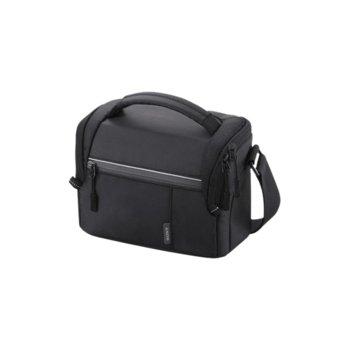 Чанта за фотоапарат Sony Soft Carry Case LCSSL10B.SYH, за DSLR фотоапарати, полиестер, черна image