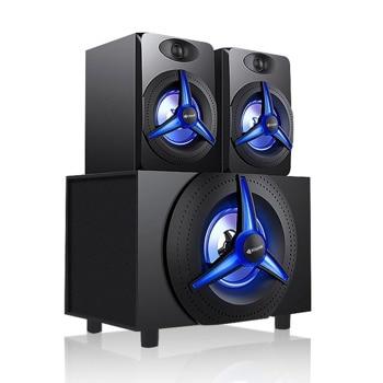 Аудио система Kisonli ТМ-7000A, 2.1, 25W, Bluetooth функция, 3.5mm стерео, черен image