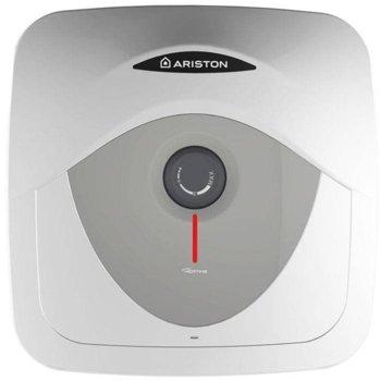 Електрически бойлер Ariston Andris RS, 30л, над мивка, 1.5 kW, титаниево покритие, 44,7 х 44,7 х 41 cm image