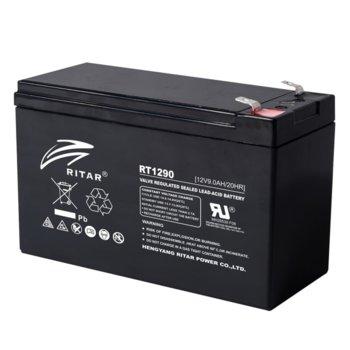Акумулаторна батерия Ritar Power RT1290, 12V, 9Ah, AGM image