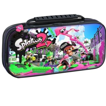Калъф Big Ben Interactive Travel Case Splatoon 2, за Nintendo Switch, черен image