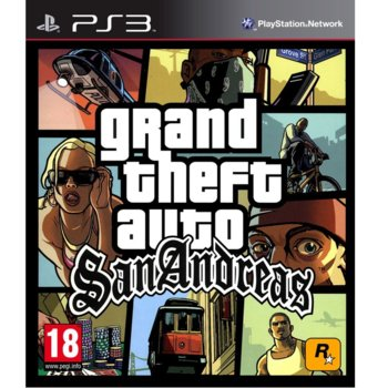 Игра за конзола Grand Theft Auto: San Andreas, за PS3 image