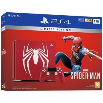 Sony PS4 1TB SLIM + SPIDER-MAN LIMITED EDITION product