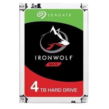 "Твърд диск 4TB Seagate Ironwolf NAS, SATA 6Gb/s, 5900 rpm, 64MB кеш, 3.5"" (8.89 cm) image"