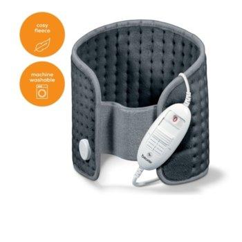 Електрически нагревател за гръб и корем Beurer HK 49 21314, сива image