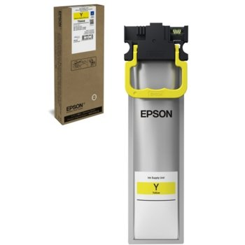 Мастило за Epson WorkForce Pro WF-C5xxx - Yellow - заб: 3 000к - 19.9ml image