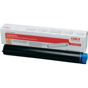 Тонер касета за OKI B2200/2400 - Black - GraphicJet 43640302 - заб.: 2000k image