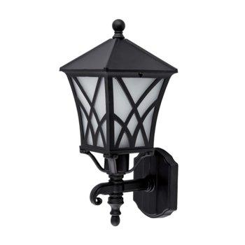 LED градинско осветително тяло Elmark EM96301WU/BK, IP44, Стенен монтаж image